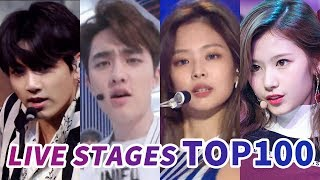 Video [TOP 100] MOST VIEWED K-POP MUSIC SHOW AND COMEBACK SHOW LIVE STAGES MP3, 3GP, MP4, WEBM, AVI, FLV Maret 2019