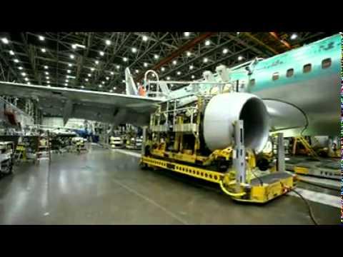 如何製作出一台飛機?