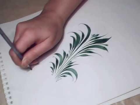 Травка (роспись), brushstrokes, paint, irishkalia