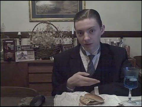 This guy reviews cheap fast food like it's a fine wine, wears a suit in every video and has been doing the same thing for nearly 6 years.