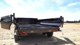 7. Load Trail DT Dump Trailer With MAX-Bed Option