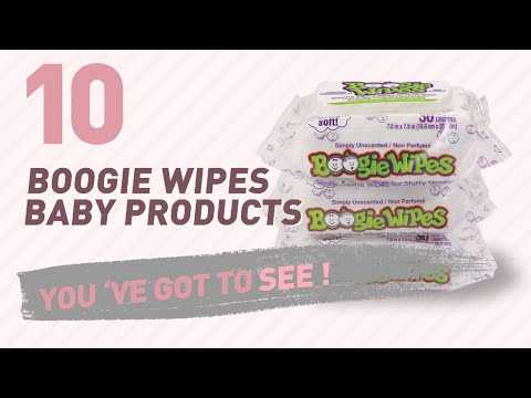 Boogie Wipes Baby Products Video Collection // New & Popular 2017