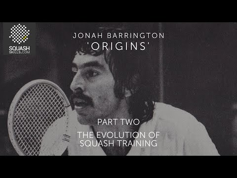 Origins part 2 - The evolution of squash training with Jonah Barrington - Trailer