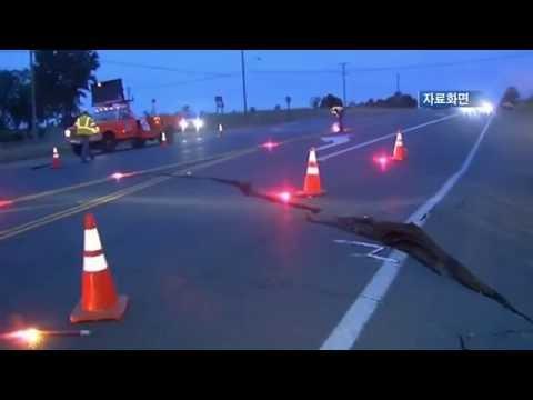 샌디에고 카운티 규모 5.2 지진  6.10.16  KBS America News