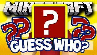 "Minecraft Guess Who! ""Round Two"" (Minecraft Modded Guess Who Mini-Game) w/TheBajanCanadian"