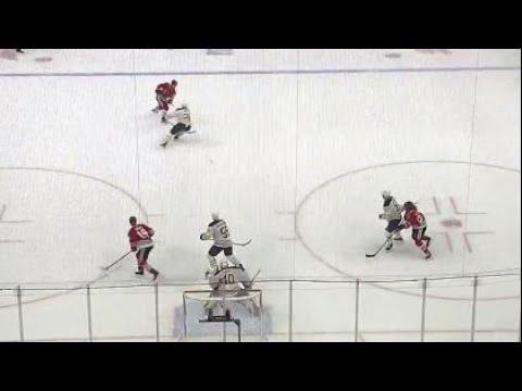 Video: Gotta See It: Blackhawks' Forsling walks the line and wins it in OT