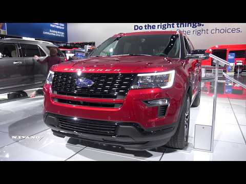 2018 Ford Explorer Sport - Exterior And Interior Walkaround
