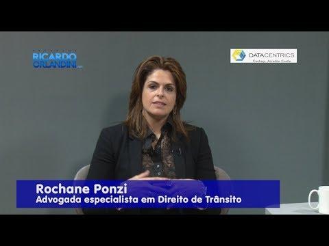 Ricardo Orlandini entrevista a cirurgiã dentista Eliane Gulko, e a advogada especialista em direito do trânsito Rochane Ponzi.