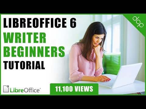 Libre Office 6 Writer Beginners Tutorial - [ Word Processing Tutorial - Document Editing ]