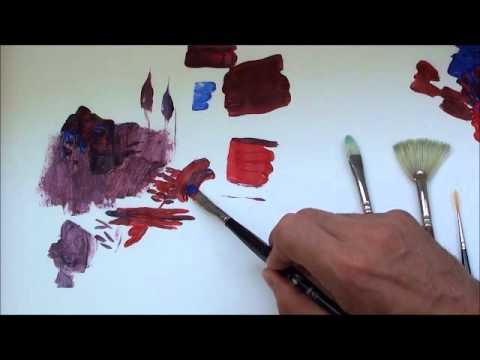 Tipps für Anfänger der Acrylmalerei (1): Pinsel, Teil 2