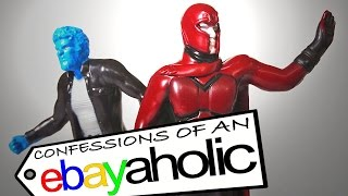 X-MEN DAYS OF FUTURE PAST Hardee's Toys Confessions Of An Ebayaholic Episode 47