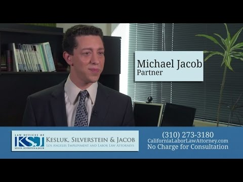 Meet Employment Litigation Lawyer in Los Angeles Michael Jacob