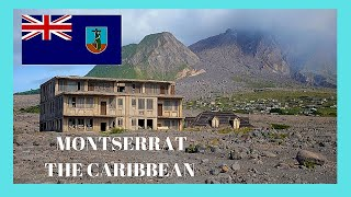 The volcanic destruction of Montserrat, a tour (Caribbean)! Let's go for a tour around this magnificent island and let's see the areas ...