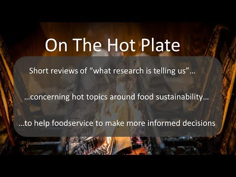 "On The Hotplate 1 - What does ""Less But Better"" meat really mean?"