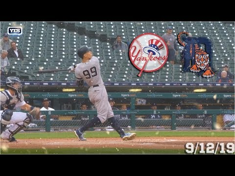 New York Yankees Highlights: vs Detroit Tigers | 9/12/19 (Game 2)