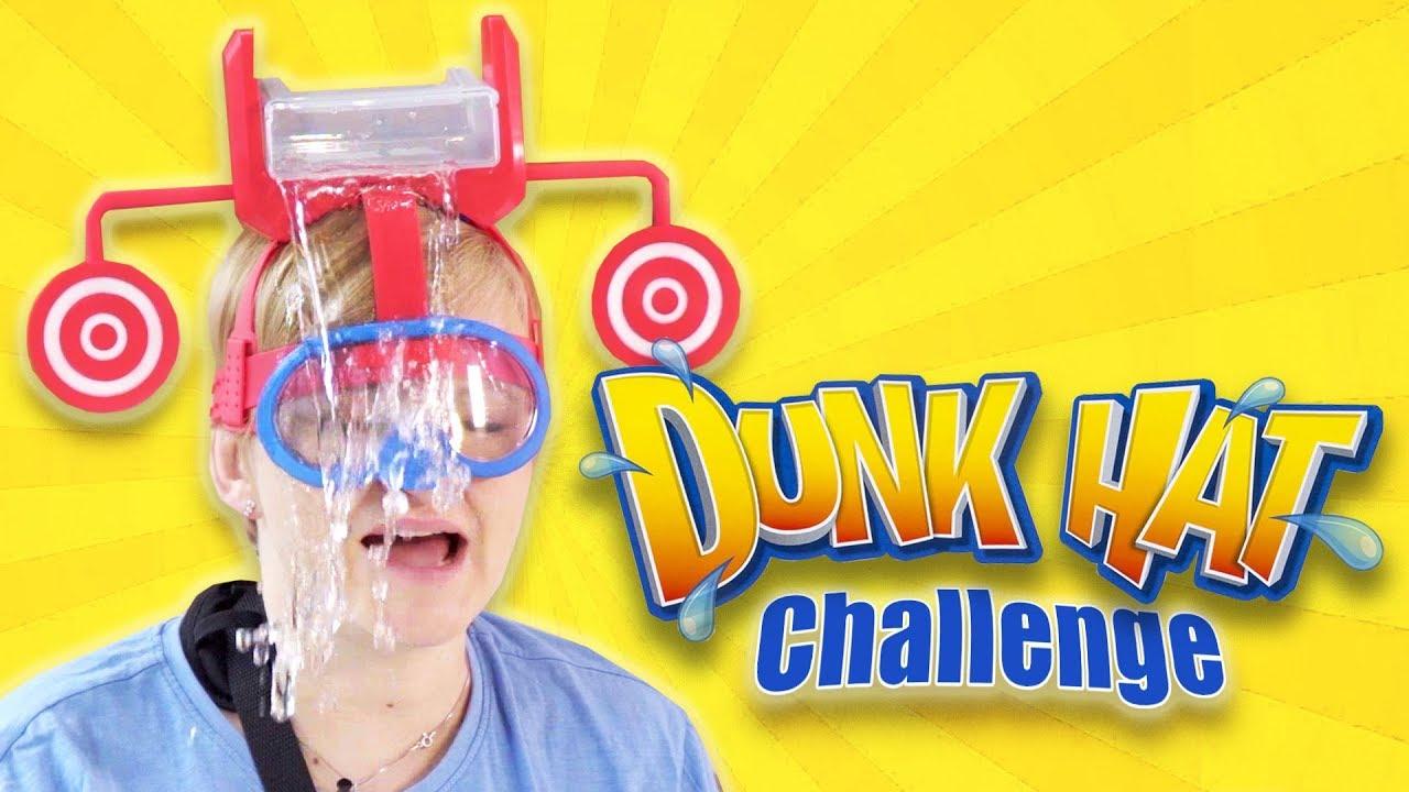 Dunk Hat, Hasbro - Kto będzie mokry? Challenge