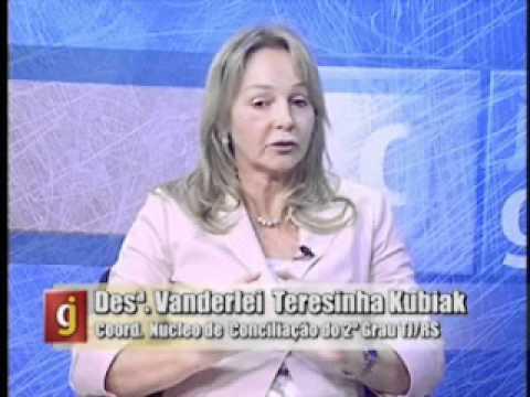 Entrevista com a Desembargadora Vanderlei Terezinha Kubiak