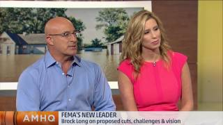 We're approaching the heart of the 2017 Atlantic hurricane season. FEMA's new leader, Brock Long, speaks about the budget challenges for the agency.