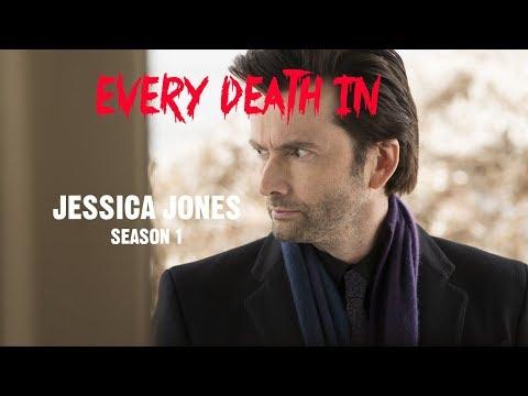 EVERY DEATH IN SERIES #15 Jessica Jones S01 (2015)