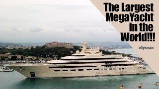 Video Largest MegaYacht in the World!!!!:  Dilbar MP3, 3GP, MP4, WEBM, AVI, FLV Januari 2019