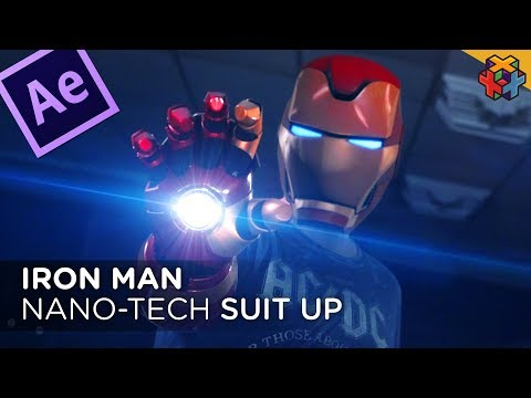 Iron Man NanoTech Effect - Our Most Requested EVER (+ Free Helmet Model)