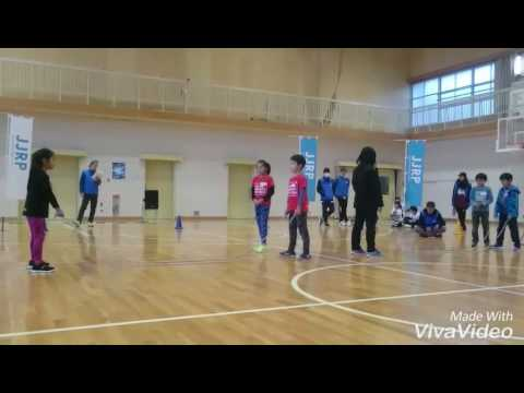 縄跳びスピードコンテストvol.1 下志段味小学校予選会場 1位通過のダブルダッチです。