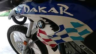 8. 2003 BMW F 650 GS Dakar - For Sale