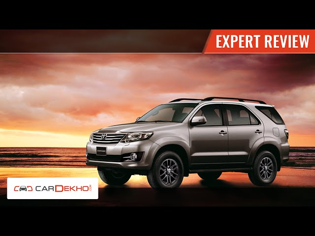 Toyota Fortuner AT 4X4 | Expert Review