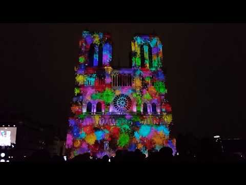 Dame de Coeur : Notre-Dame de Paris HD Video Mapping PART 2