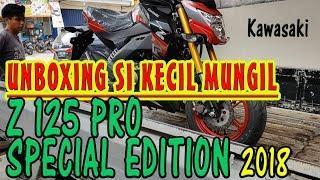 2. UNBOXING MINIBIKE Kawasaki Z125 PRO SE 2018