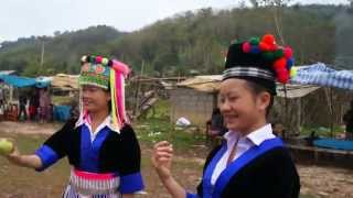 Hmong - Hmong Laos 2013 - new year. Peb caug Lav-52, Vienthong, LPB. P-3 [HD]
