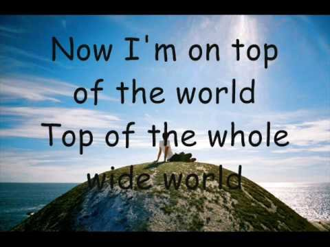 Tekst piosenki Mandy Moore - Top Of The World po polsku