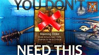 [Warframe] no MAIMING? NO PROBLEM! An alternative to Maiming S...