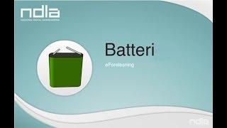 Denne videoen viser korleis eit batteri fungerer. For å forklare det, blir det først forklart kva ein redokreaksjon er. BM: http://ndla.no/nb/node/16663?fag=...