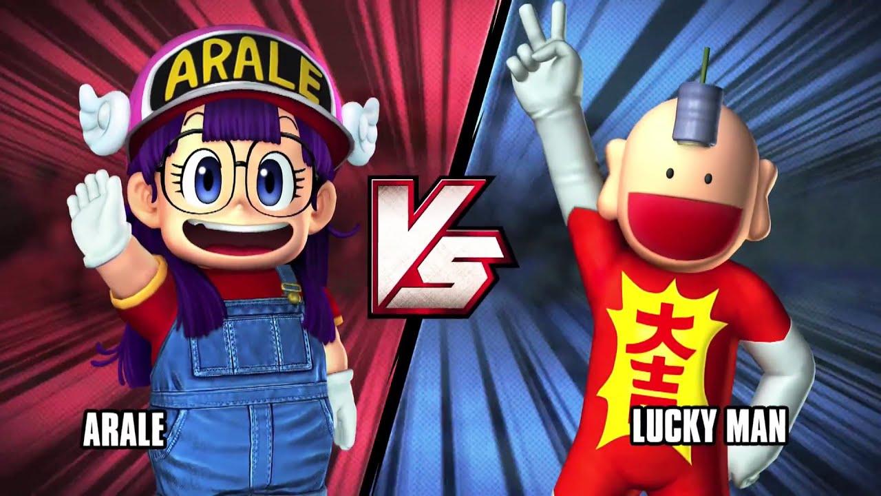J-STARS VICTORY Vs+ : Arale VS Lucky Man (PS4) #VideoJuegos #Consolas