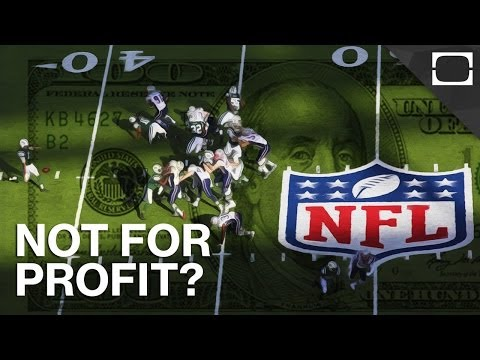 Non Profit - With an estimated annual revenue of $9.5 billion dollars, it's hard to believe the NFL is legally exempt from paying government taxes. How can an organizatio...