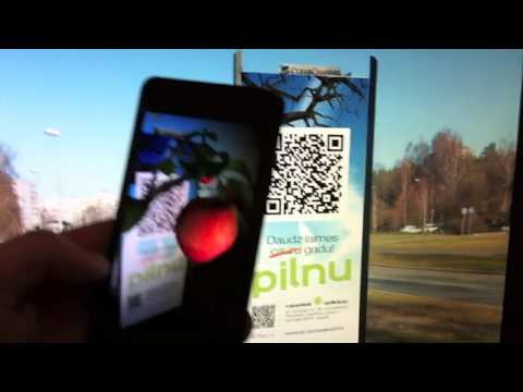 Video of Augmented Reality Outdoor