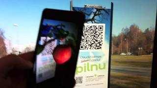 Augmented Reality Outdoor YouTube video