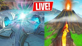 LOOT LAKE / VOLCANO EVENT is HAPPENING NOW!! (Fortnite Battle Royale)