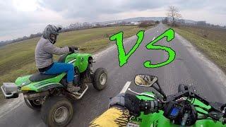 10. KFX700 vs KFX700 acceleration