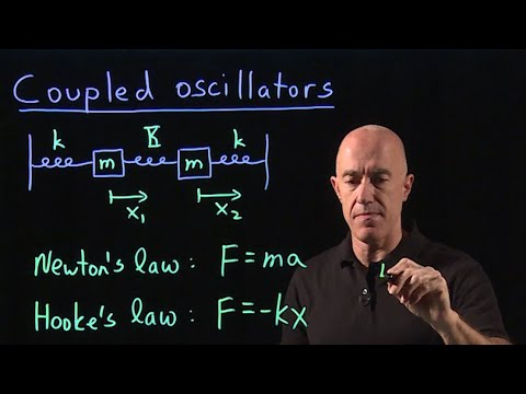 Coupled oscillators | Lecture 46 | Differential Equations for Engineers