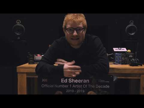 Video - Ο Εντ Σίραν αναδείχτηκε καλλιτέχνης της δεκαετίας στη Βρετανία