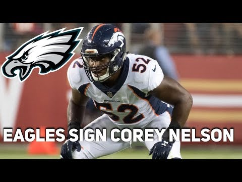 Eagles Sign Corey Nelson