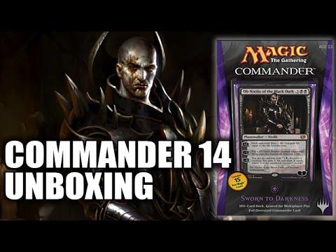 Commander 2014 Black Deck
