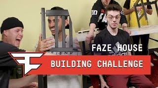 FaZe Real Life Fortnite Building Challenge