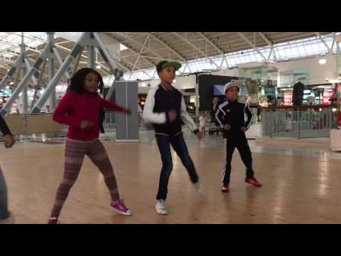 Living the Dream Street Dance Workshops at the Galleria, Hatfield