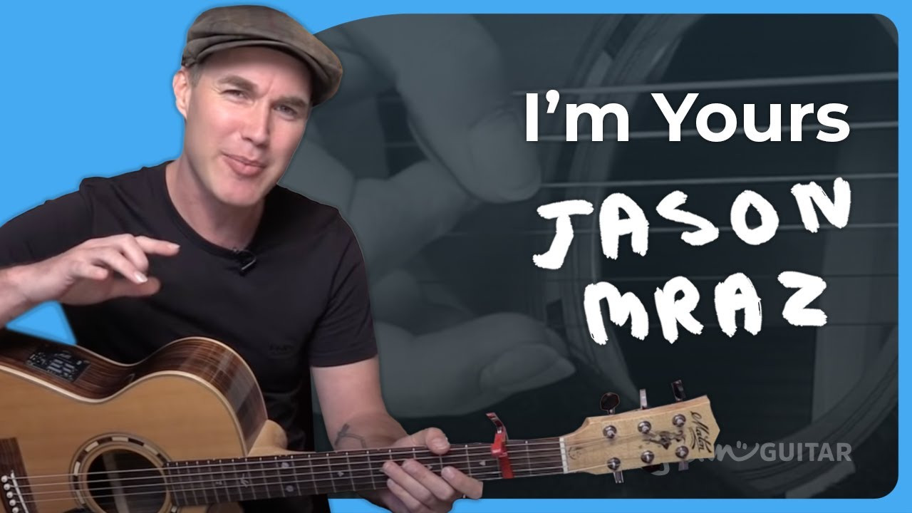I'm Yours – Jason Mraz – Acoustic Guitar Lesson (SB-222) How to play on guitar