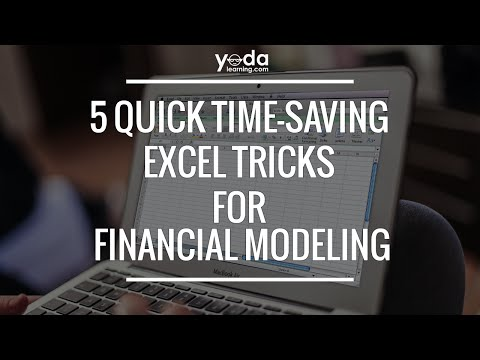 Top 5 Quick Time-Saving Tricks For Financial Modelling