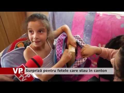 Surpriză pentru fetele care stau în canton