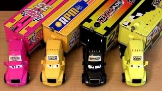 Disney Cars Trucks Hauler Nitroade, Leak Less, Shifty RPM Cami&#243;n toys Mattel Haulers Caminh&#227;o